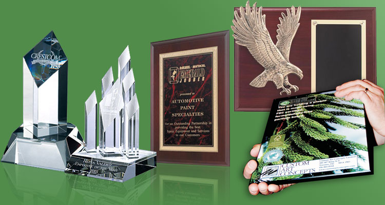Custom Designed Awards and Plaques