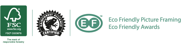 Eco-friendly, FSC approved, Rainforest Alliance Certified products
