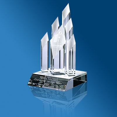 Eco Friendly Awards Amp Plaques Glass Awards Acrylic